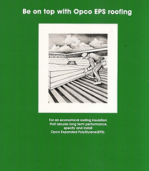 OPCO Roofing Insulation from Recyclable Rigid Foam