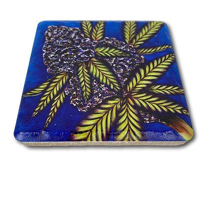 Coaster - Cannabis #6007