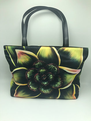 Classic Shoulder Bag- Succulent