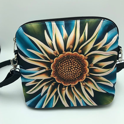 Messenger Bag - Sea Flower