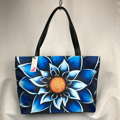 Classic Shoulder Bag- Into The Blue