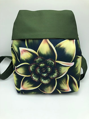Small Backpack - Succulent