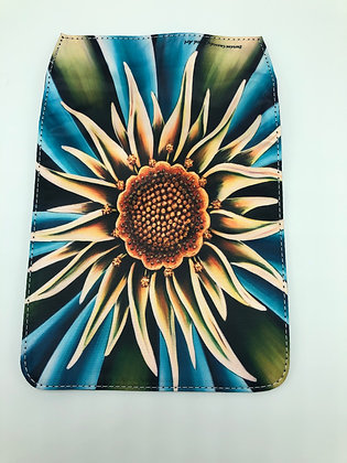 Replacement Flap Messenger Bag Cover (small) - Sea Flower