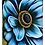 Thumbnail: #017 Blue Cosmos - Protective Phone Case