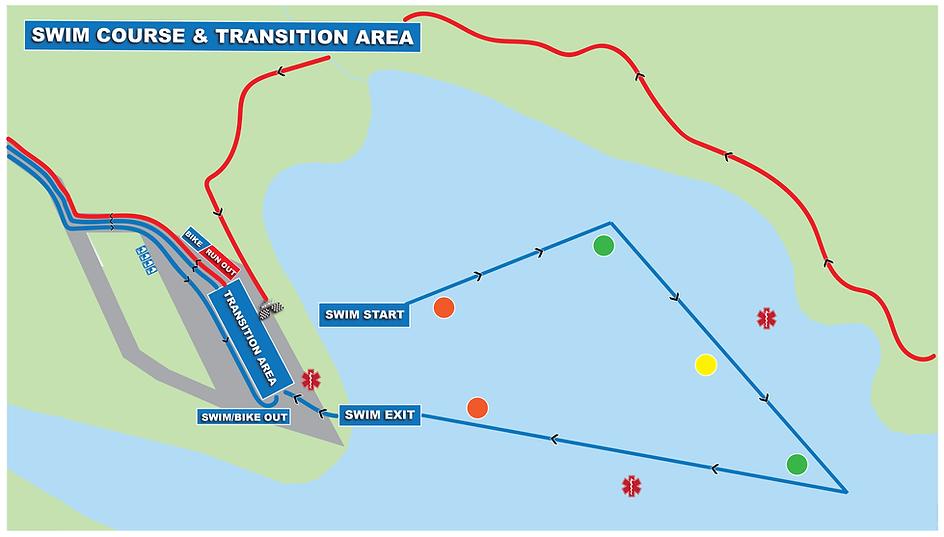 Steamboat Lake Triathlon Swim & Transiti