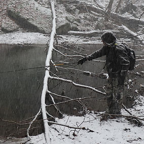 Fishing in winter