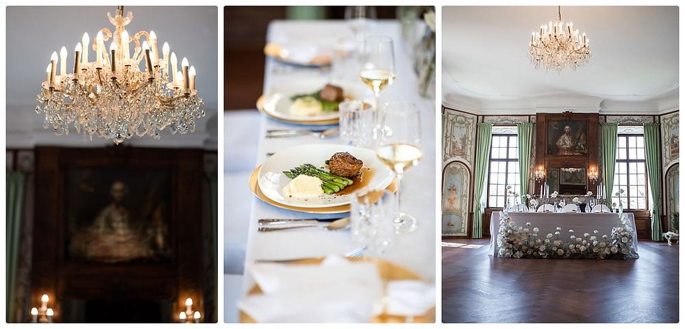 französische inspirierte Schlosshochzeit - Hochzeitsdeko
