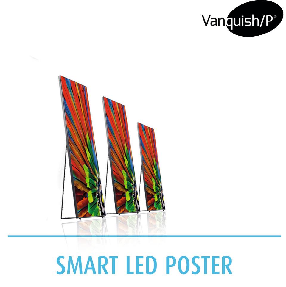 Vanquish/P Smart LED Poster