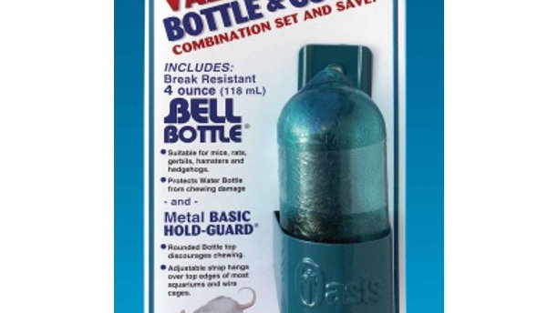 Kordon/Oasis (Novalek) Bell Water bottle and Holder Set, 4 oz.
