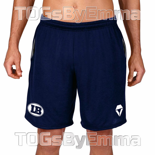 Performance Shorts Official London Blitz AFC Printed With Pocket Navy / Charcoal