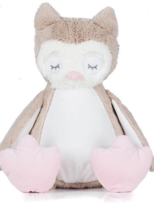 Zippie Owl Light Brown MM054
