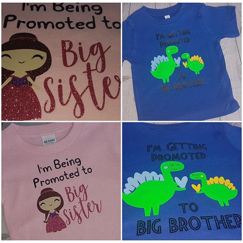 Big Sister/Brother T-shirts