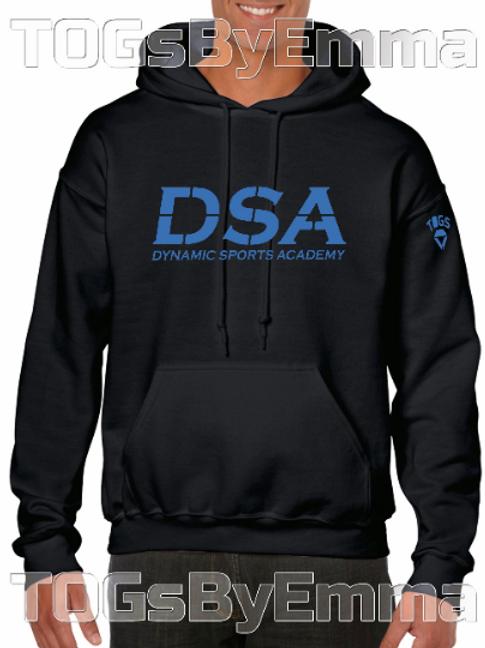 Printed Hooded Sweatshirt Black Official Dynamic Sports Academy