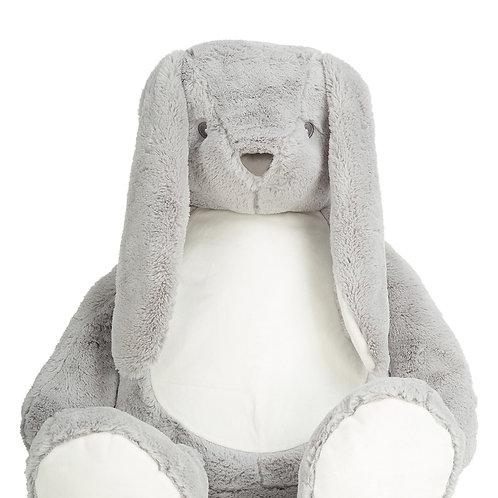 Giant Zippie Bunny Grey MM550