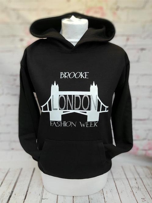 London Fashion week hoodie