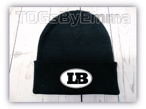 Beanie Hat Official London Blitz AFC Embroidered Navy