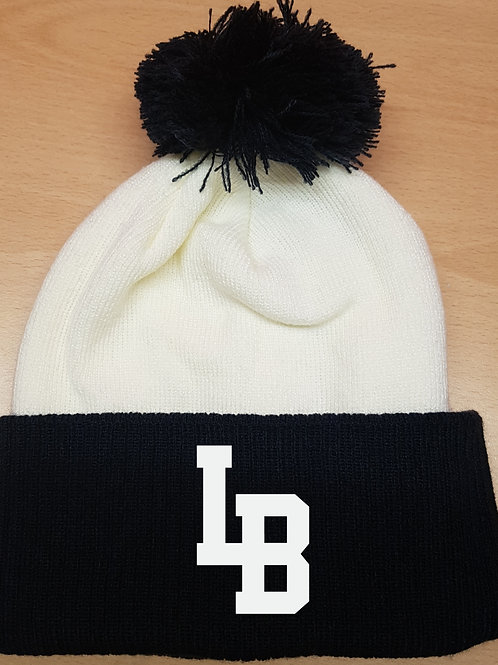 BOBBLE HAT Official London Blitz AFC Embroidered Navy & White