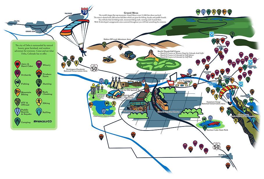 Delta Area Activity Map