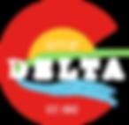City of Delta Logo White