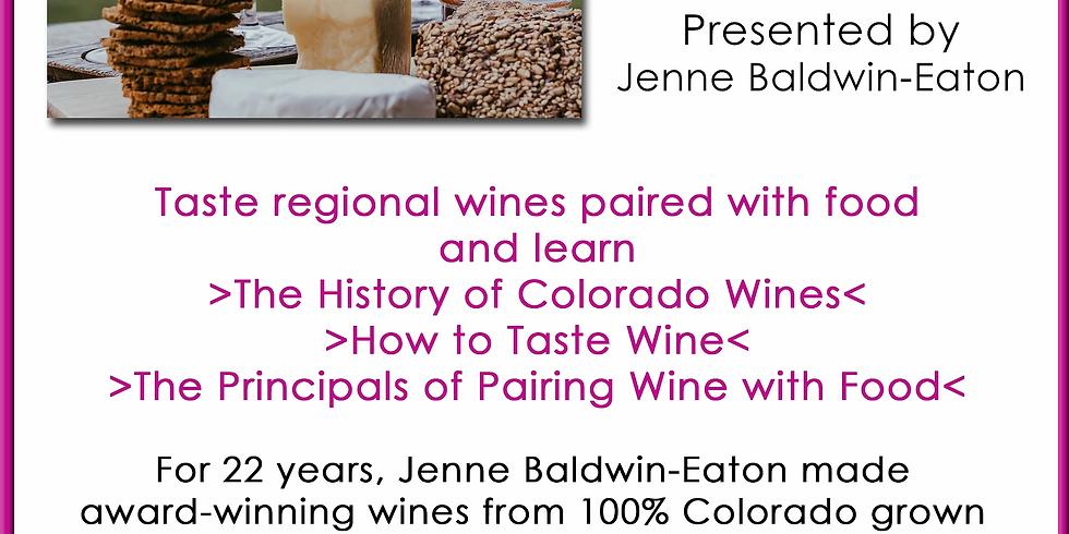 Wine Tasting and Pairings