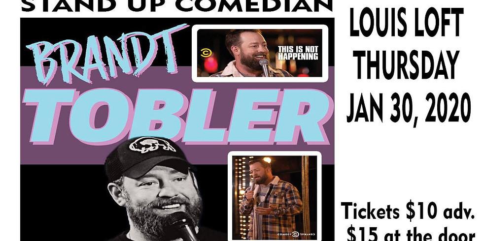 Brandt Tobler Stand Up Comedian