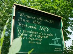 Schilderwerk Weijpoortsemolen te Nieuwerbrug