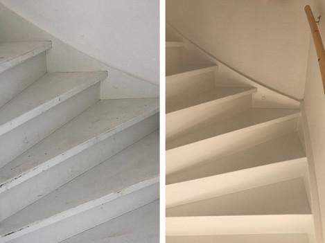 Trap (voor en na)