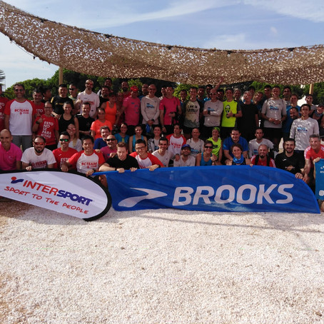 ENTREGA SORTEO INTERSPORT/BROOKS