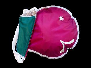 FlipFlop Wickelfisch Petrol/Raspberry M