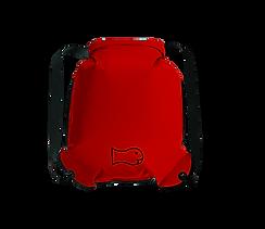 Schwimmrucksack, Medium, Rot