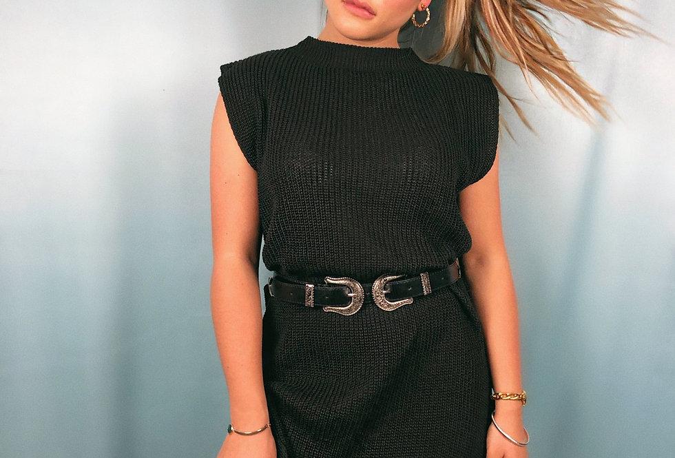 Colete Maxi de tricot