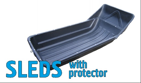 SLEDS WITH PROTECTOR