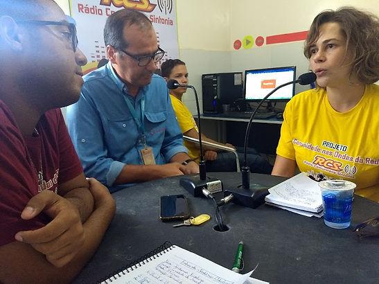 Entrevista com os Representantes do Instituto Intercement - Jordânia Furbino e Jossandro Marques.
