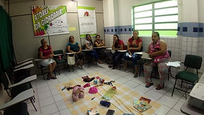 Grupo de Mulheres em Geração Trabalho e Renda.