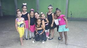 Atividades de Ballet Baby Class.
