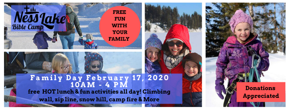 Family Day February 17, 2020 Cover Page