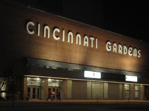 Goodbye Cincinnati Gardens