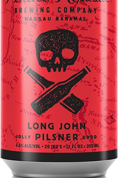 LONG JOHN PILSNER- Pirate Republic