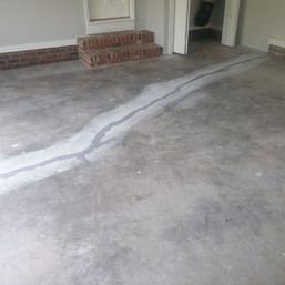 Existing Crack in Durham NC - Before