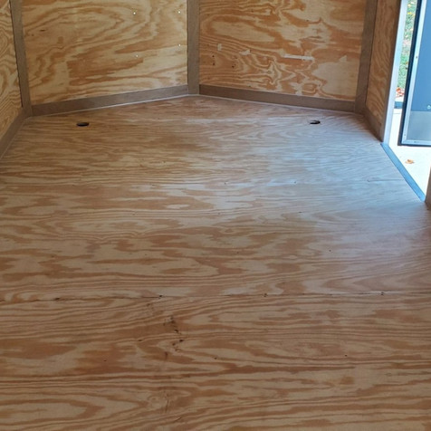 Enclosed trailer in Raleigh NC