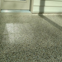 Patio in Cary NC finished in Capuccino flake color