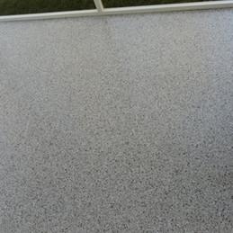 Patio in Pittsboro NC finished in Dakota Grey flake color