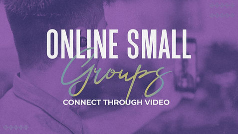 Online Small Groups Connect Through Vide