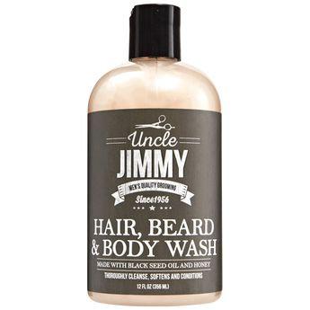 Uncle Jimmy Hair/Beard/Body Wash 12oz