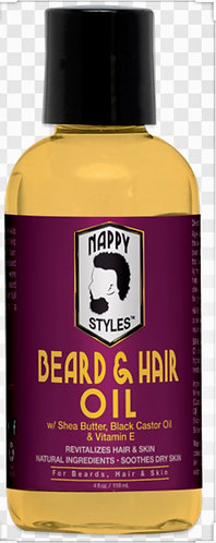 NAPPY STYLES HAIR & BEARD IL 4OZ