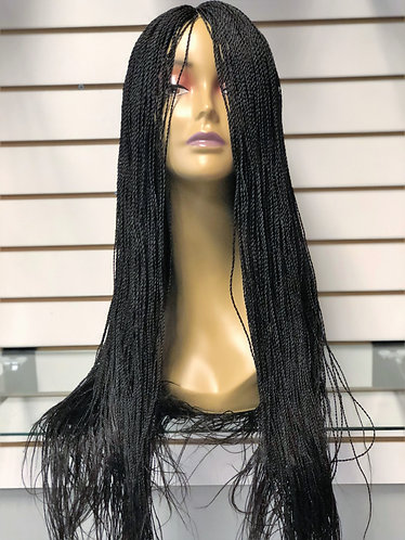 Hand Made Senegalese Twist Wig | Neat small size - 32 IN Long