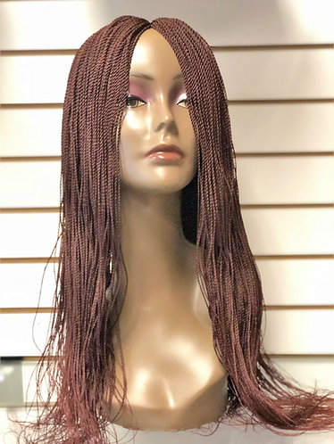 Hand Made Senegalese Twist Wig | Neat small size - 28 IN Long