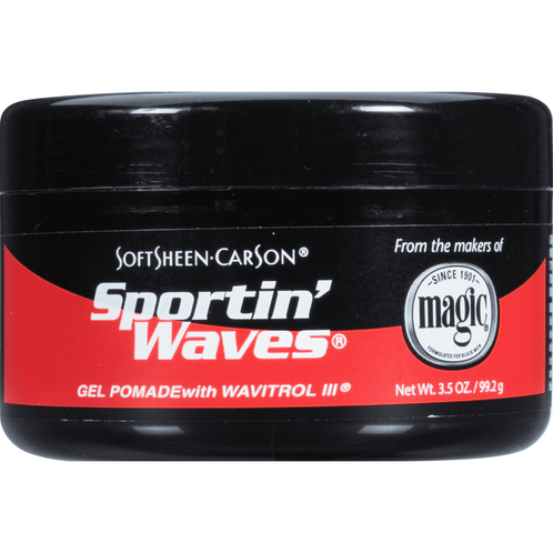 Soft Sheen-Carson Sportin' Waves Gel Pomade with Wavitrol III 3.5oz