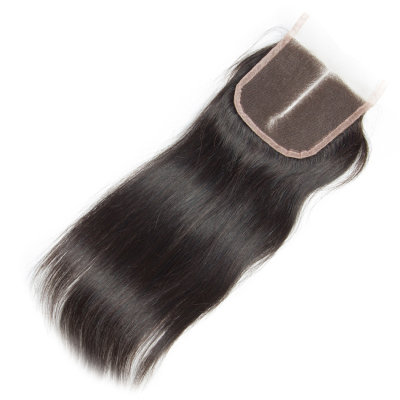 4*4 Lace Closure Straight Remy Hair - Natural Color
