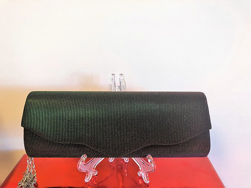 Irridescent green clutch